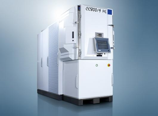 CC800®/9 ML The economic system for medium-sized volumes and frequent batches with different coating materials.