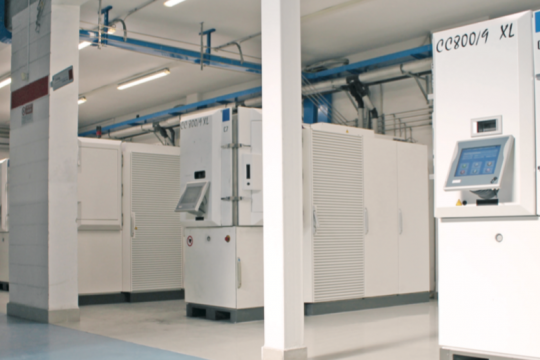 Italy's largest coating center uses CemeCon systems!